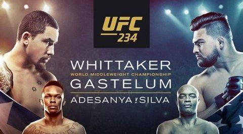 UFC 234: Robert Whittaker vs. Kelvin Gastelum